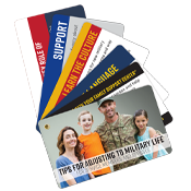 Tips For Adjusting to Military Life Info Cards