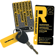 R2 Ready And Resilient Card & Key Tag